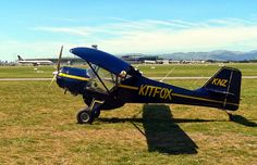 NZ Civil Aircraft: Kitfox ZK-KNZ at NZCH.