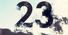 My lucky number. 23 by Jessica Svendsen. Cool Numbers, Letters And Numbers, Iphone Wallpaper Off White, Wallpaper Backgrounds, Book Design, Design Art, Number Wallpaper, Advent, Typography Inspiration