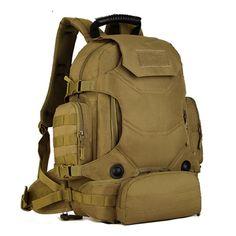 "2017 14 "" Laptop Computer Bag  Multi-function Nylon Pack Men Backpacks Sport Camouflage Bags  Climbing Skiing Backpack"