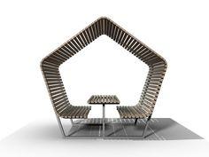 PAM - picknicktafel / schuilhut