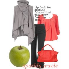 "wardrobe basics for the apple shape | dress an apple shape: everyday3"" by rachaelpainter on Polyvore"