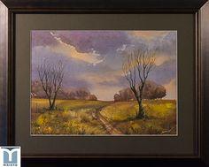 Onward, original watercolor by Jesus F. Moreno