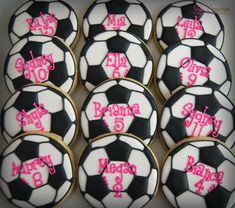 Soccer Cookies, Soccer Treats, Soccer Cupcakes, Soccer Snacks, Sports Snacks, Team Snacks, Soccer Gifts, Soccer Banquet, Soccer Theme
