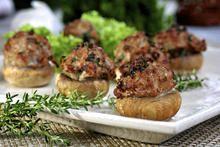 Gevulde champignons met gehakt | Keurslager