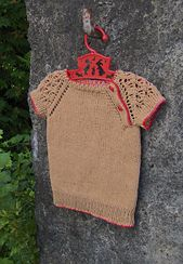 HINE is a girl - the beautiful sister pattern to TAMA - free pattern