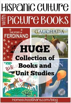 Hispanic Culture with Picture Books- Sept 15 to Oct 15 is National Hispanic Heritage Month