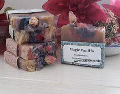 Magic Vanilla- Handgefertigte Naturseife mit einem feinen Vanilleduft