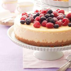 Berry Ricotta Cheesecake Recipe - Good Housekeeping