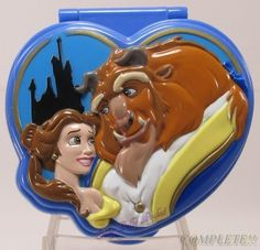 1995 Disney Beauty and the Beast  Playcase :: Polly Pocket :: Tiny Collection