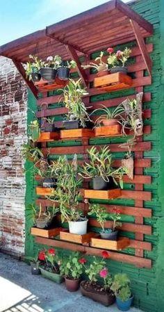 50 inspiring diy projects pallet garden design ideas 68 small garden landscaping ideas for frontyard Small Backyard Gardens, Backyard Patio, Backyard Landscaping, Landscaping Ideas, Small Patio, Large Backyard, Florida Landscaping, Modern Backyard, Diy Patio