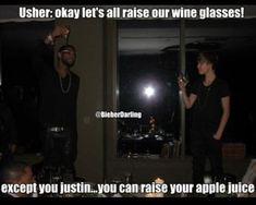 usher justin beiber funny pictures