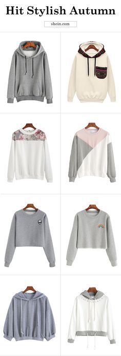 Hit flattering autumn with cozy sweatshirt! White sweatshirt, grey sweatshirt and more for your cool fall day! Outfits For Teens, School Outfits, Winter Outfits, Outfits With Sweatshirts, Cold Weather Outfits For School, Chilly Day Outfit, Pretty Outfits, Cute Outfits, Casual Outfits