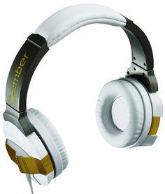Fones de ouvido são banhados a ouro