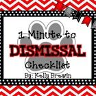 This is a small, but EDITABLE set of simple things students do prior being dismissed.    *Check your planner. *Turn in or put work in binder *Turn ...