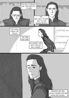 After Thor TDW - comic-fanfic - page 13 by DKettchen on DeviantArt Loki And Sigyn, Thor X Loki, Loki Laufeyson, Marvel Avengers, Loki Drawing, Loki Art, Lady Loki, Comic Page, Comic Book