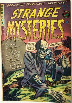Vintage Comic Book - Strange Mysteries #11 May 1953