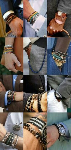 Bracelets can go a long way when wanting to add some flare to your wristwear.