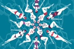 Shop cover, Rimini swimsuits