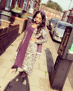 Hey blogbees! Following from my post about Eid-Ul-Adha 2016 day 1 and Anniversay dinner at Luton Hoo. Day two of Eid, I wore another purple outfit but this purple was a Mauve shade. Again from my n…