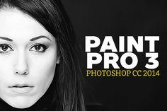 Paint Pro 3 by ozonostudio on Creative Market