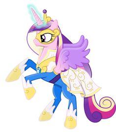 Princess Cadance as a Power Pony by 90Sigma.deviantart.com on @deviantART
