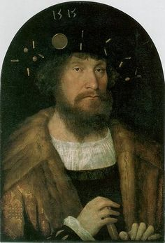 Portrait of the Danish King Christian II. By Michel Sittow, 1514/15.