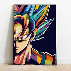 Dragon Ball Z, Sheng Long, Wall Prints, Poster Prints, Posters, Anime Art, Manga Anime, Ball Drawing, Z Arts
