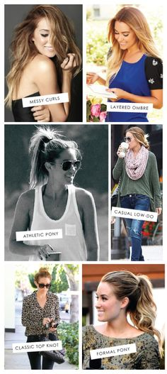 Lauren Conrad. Even if she pulls à bag over her head it would fit her (lol) Always loved her style and still do.