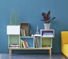 The new colors Cubit - FrenchyFancy Cd Regal Ikea, Cubes, Regal Design, Sideboard Buffet, Credenza, Diy Recycle, Home Projects, Bungalow, Bookcase