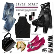 """Style Diary"" by asteroid467 ❤ liked on Polyvore featuring moda, Abercrombie & Fitch, Clips, H&M y Love 21"