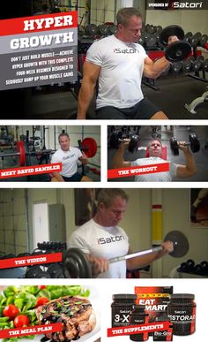 Hyper Growth Muscle Building Workout Routine   Muscle & Fitness