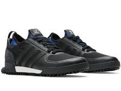 brand new b3f6d 5366d Adidas x C.P. Company MARATHON Core Black Core Black Collegiate Royal  Soccer Fans,
