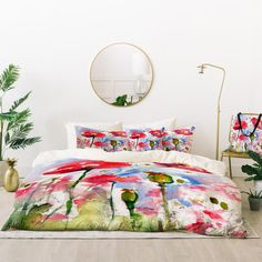 Ginette Fine Art My Lovely Garden Bed In A Bag | Deny Designs