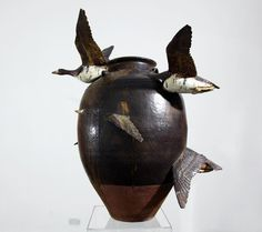 goose vase by keiko masumoto