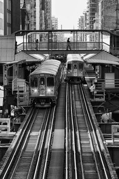 The city of Chicago is associated Capricorn.  Both can be described as having cold passion.......Photo of El Train - Chicago.