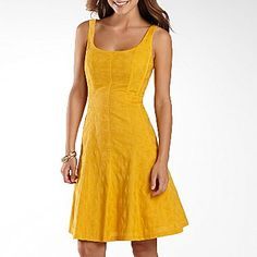 Nine & Co.® Circle Stitch Textured Dress - jcpenney