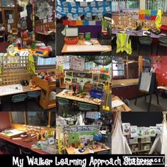 I have finally finished setting up my new classroom in my new school! This year I will be teaching 1/2 using the Walker Learning Approach (Kathy walker approach).