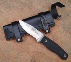 custom rob bayley knife for Bear Grylls