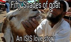 Fifty shades of Goat, an ISIS love story  POLITICALLY INCORRECT CARTOONS