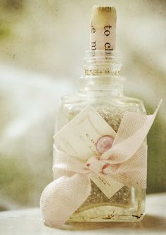Put bath pearls in there pretty! ♥