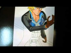 Speed Drawing Sabo  - ONE PIECE  With FINECOLOR