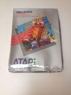 Atari 8-bit Computer Millipede Factory Sealed Complete 400 800 XL XE #atari #retrogaming #8bit #Gamer