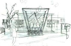 visual display sketch