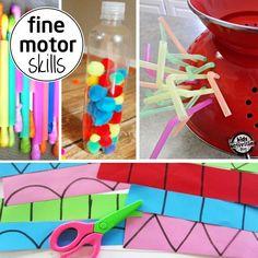 Here are some fine motor skills activities for your preschooler to prepare for kindergarten.