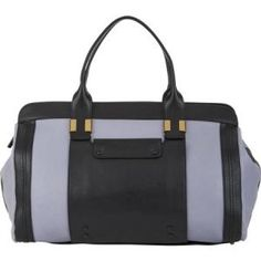 Chloe - Leather Large Tote Bag Alice Wisteria Violet - $1,039.00 (48% off)