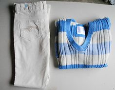 Starting Bid $19.99 #ebay #shopping Justice Size 12 Outfit Blue Sweater, Off White Jeans New wTags Free Shipping