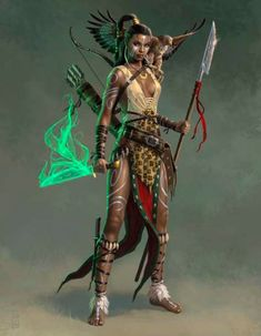 f Half Elf Wizard Glaive Longbow Magic Shortsword Dagger Traveler Mage Wars Arena med Fantasy Women, Fantasy Girl, Dark Fantasy, Fantasy Warrior, Warrior Concept Art, Fantasy Inspiration, Character Inspiration, Character Portraits, Character Art