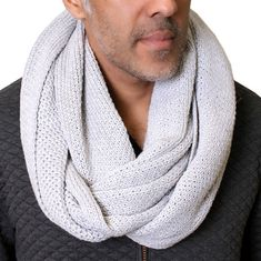 Knitted infinity circle loop knit scarf is designed and ethically produced with love and care, sewn by hand, amazing quality, pure and natural, you will LOVE it, we promise! GOTS certified 100% organic cotton knit scarf, infinity loop style, many trendy color options. No harmful dyes &