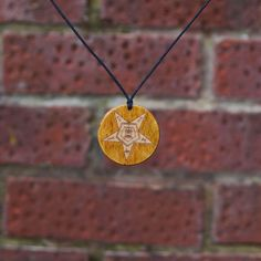 Freemason Handmade Eastern Star Masonic Gift -Brown Pendant/Necklace. #Handmade #NecklacePendant