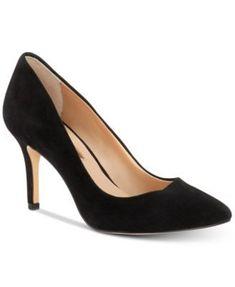 INC Women's Zitah Pointed Toe Pumps, Created for Macy's Woman Shoes macys shoes woman Pump Shoes, Women's Pumps, Women's Shoes, Suede Pumps, Court Shoes, Shoes Style, Stilettos, Dance Shoes, Vans Old Skool